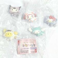 Sanrio Kitty, Kuromi Great march of kittens 5 set Mini figure Gashapon