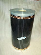 Infrared Underfloor Heating foil/film 220W/sqm 0.5m wide x 1 meter long