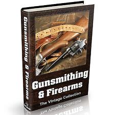 Gunsmithing Firearms & Guns - MASSIVE 125 Vintage Books on DVD Pistols & Rifles
