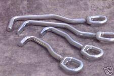 Mo-Clamp Swivel Head Sheet Metal Hooks (set of 4)