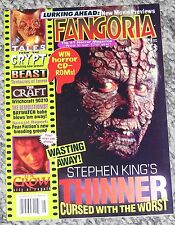 FANGORIA #152 May 1996 Thinner Tales from the Crypt The Crow Beast Horror
