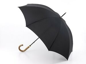 Fulton Commissioner Gents Long Umbrella Real Elmwood High Quality