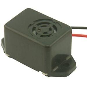12V Electronic 75db ABS Buzzer Sounder