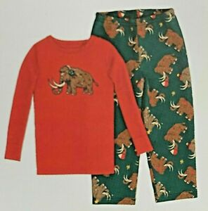 2T Toddler Boys' Mammoth Pajama Fleece Pant Set - Cat & Jack Sleepwear NEW