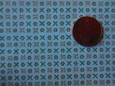 MINIATURE DOLLHOUSE mini graphics lydia cross stitch wallpaper 1:12