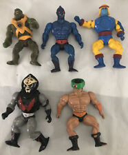 Vintage 1980?s HE-MAN Action Figures TOY Collection LOT of 5 Mattel Collectables