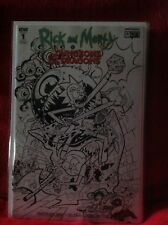 RICK & MORTY DUNGEONS & DRAGONS  # 1 NYCC RETAILER VARIANT DARK HORSE COMICS