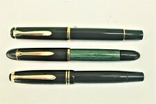 2 Pelikans  and a Montblanc Fountain Pens - As Found