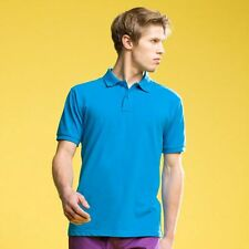 ASQUITH & FOX  POLO T SHIRT 24 COLOURS  SIZES S-3XL