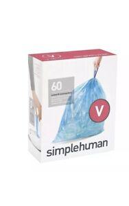Simplehuman Code V Bin liners, CW0269 (Box of 60)