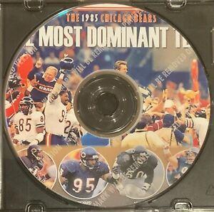 1985-86 Chicago Bears Season - Super Bowl XX Champions - Richard Dent MVP