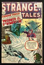 STRANGE TALES #103 1962 GD+ ZEMU  ,KIRBY,DITKO 2 ATLAS SHORTS+THE HUMAN TORCH!