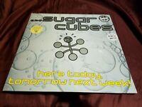 Sugarcubes  Here Today, Tomorrow Next Week!  PROMO Virgin Audiophile Vinyl LP!