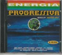 CD  ENERGIA PROGRESSIVA  COMPILATION  NUOVO  SIGILLATO