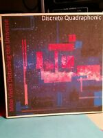 MIKE VIEIRA - DISTURBING THE UNIVERSE  Quadraphonic QUAD Reel tape Q4