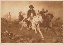 Napoleone Waterloo Soult guardia Conte Bertrand Uniform Georg rimani fedele Persiani giumenta