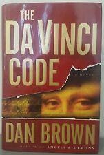 The Da Vinci Code by Dan Brown 2003, Hardcover ($24.95)Robert Langdon Series