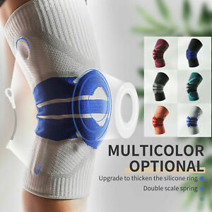 Knee Support Brace Medial & Patel Pain Relief Compression Sleeve Protector