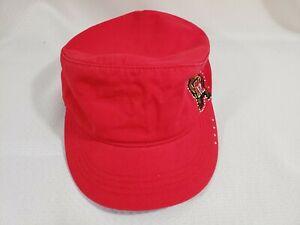 Captivating Headgear Maryland Terrapins Short Brim Jeweled Hat Red Hook & Loop