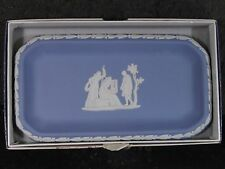 "Wedgwood Oblong Pin Tray 6"" X 3"" With Original Box"