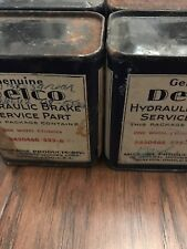 Four Nos Delco Factory Sealed 1938-53 Buick,Cadillac rear Wheel Cylinder