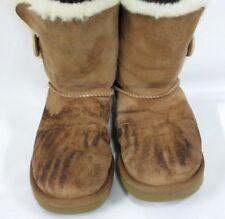 UGG Australia Women's Bailey Button Boots Classic Chestnut 1016226 Size 7