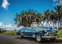 A1 Classic American Car Poster Art Print 60 x 90cm 180gsm Miami Cool Gift #14573