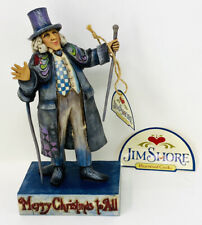 "8� Jim Shore ""Thankgoodness It'S Still Christmas� Scrooge, Enesco, Mib"