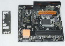 ASRock Z170M Pro4 Micro ITX used with box and IO shield for LGA1151 socket