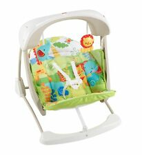 Fisher-Price Take-Along Swing and Seat, Rainforest Friends, One size