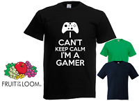 I'm A Gamer Gaming Boys Girls Funny Novelty Video Game T-Shirt Top ALL SIZES
