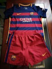 Camiseta y pantalón f c barcelona niño 7-8 años