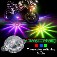 Motorcycle LED Decoration Atmosphere Lamp Motor Chassis Light Flash Strobe RGB