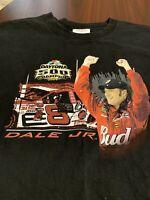Dale Earnhardt Jr 2004 Daytona 500 Mens Black Nascar Racing T Shirt Extra Large