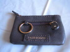 Tyler Rodan Coin Purse - 4 1/2 Inches Wide - Dark Brown