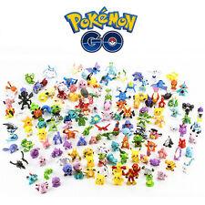 144pcs Pokemon Monster Mini Figure 2-3cm Action Figures in Cute Random Toys