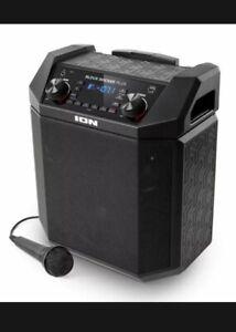ION Audio Block Rocker Plus - 100 W Outdoor Bluetooth Speaker + Microphone