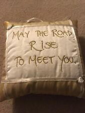 Gift Cushion May The Road Rise To Meet 20  X 20cm