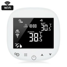 WiFi Thermostat Digital Touch Screen Temperature Control W/ Humidity Sensor APP