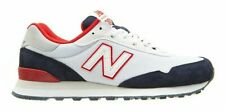 NEW BALANCE Classic ML515OTX Men's White Navy Suede Mesh EVA Lace-up Sneakers