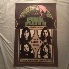 retro cool PINK FLOYD poster - U.S.A. ANIMALS TOUR '77 new york - 24x36 - NEW