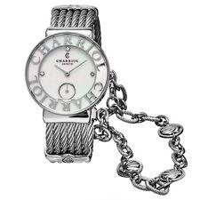 Charriol Women's St Tropez Stainless Steel Seashell Quartz Watch ST30SC560011