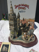 "Enesco David Winter Cottages ""The Millennium At Horseshoe Bay"" Brand New! Huge!"