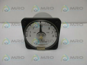 GENERAL ELECTRIC 50-112402FCAD1 POWER FACTOR METER * USED *