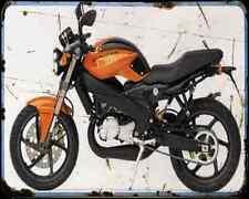 CAGIVA 125 V Raptor 03 1 A4 metal sign moto Vintage Aged