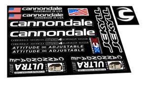 New custom Cannondale Jekyll frame stickers decals mtb bike