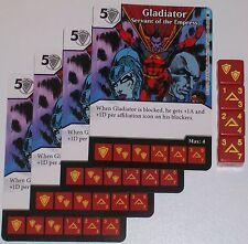 4X GLADIATOR: SERVANT OF THE EMPRESS 50/142 The Amazing Spider-Man Dice Masters