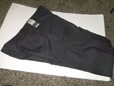 KENNETH COLE REACTION Men's 36 X 30 NEW Navy Dress Pant Flat Front Polyester