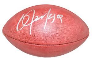 Bo Jackson Autographed/Signed Oakland Raiders Official Football BAS 28254