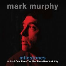 Mark Murphy Milestones 40 Cool Cuts From The Man From New York City 2 Cd Set